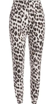 Nyc Leopard Print Track Trousers - Alice+olivia