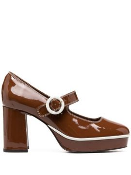 Carmen Patent Leather Pumps - Carel