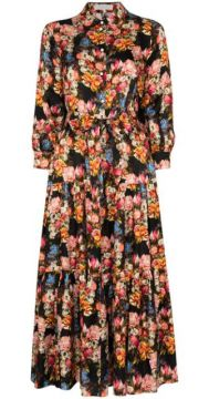 Issa Floral-print Shirtdress - Borgo De Nor