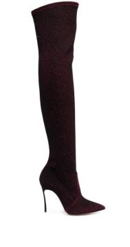Shimmer Over The Knee Boots - Casadei