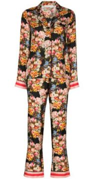 Eden Floral-print Two-piece Pyjamas - Borgo De Nor