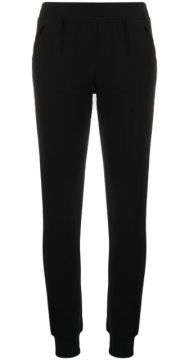 High-waisted Slim Fit Track Trousers - Atm Anthony Thomas Me