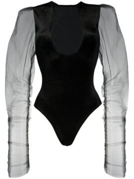 Sheer Detail Fitted Body - Alchemy