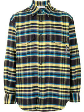 Camisa Oversized Flanelada Xadrez - Ground Zero