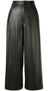 Wiles Cropped Wide-leg Trousers - A.l.c.