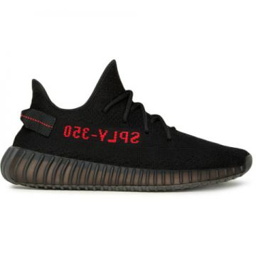 Tênis Yeezy Boost 350 V2 black/red - Adidas Yeezy
