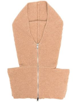 Ribbed-knit Hood - Cashmere In Love