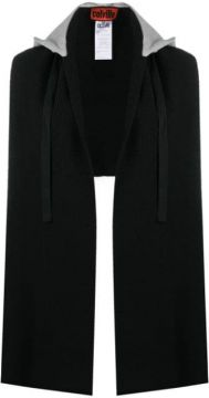 Fine-knit Hooded Scarf - Colville