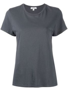 Round Neck Short-sleeved T-shirt - Agolde