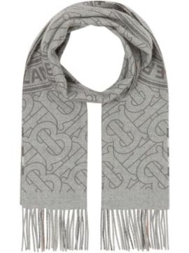 Patterned Cashmere Scarf - Burberry
