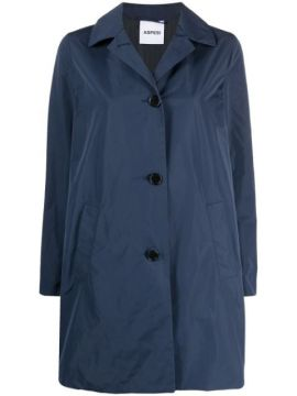 Button-front Trench Coat - Aspesi