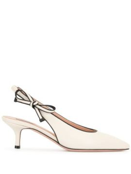 Bow-detail Pointed Pumps - Bally