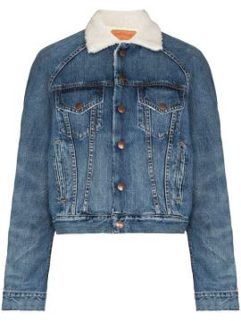 Exeter Shearling-lining Denim Jacket - Denimist