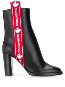 Ankle Boot Com Logo - Dsquared2