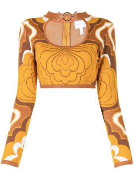 In Music Intarsia-knit Top - Alice Mccall