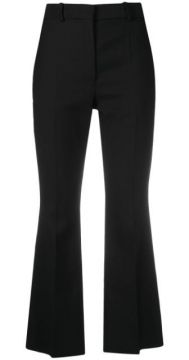 Cropped Flared Trousers - Joseph