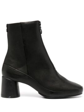Ankle Boot Upright De Couro - Camper