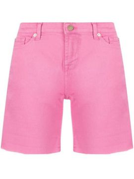 Short Jeans Cintura Alta - 7 For All Mankind