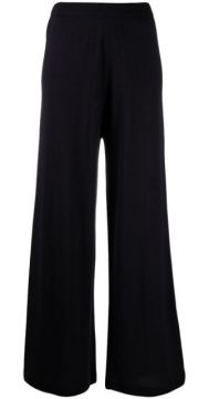 Cropped Wool Trousers - Allude