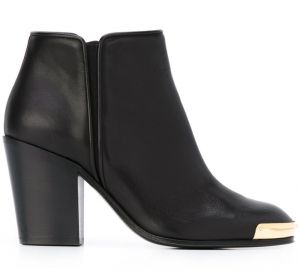 Ankle boot de couro  Giuseppe Zanotti Design