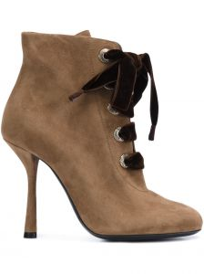 Ankle boot de camurça  Lanvin