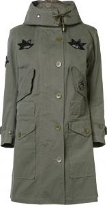 military style field jacket  Figue