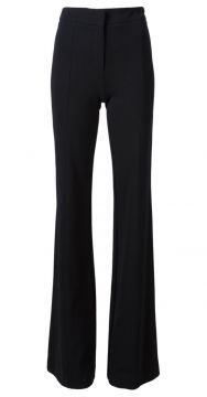 flared leg trousers