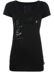 lace-up Plein print T-shirt  Philipp Plein