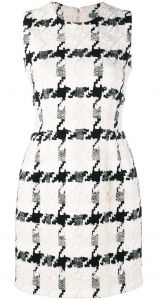 houndstooth mini dress Alexander McQueen