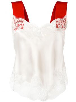 contrast strap lace camisole Givenchy