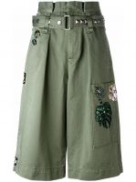 embroidered long cargo shorts Marc Jacobs