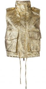 textured hooded gilet Dsquared2