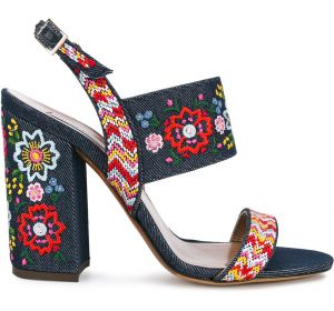 Senna Festival embroidered sandals Tabitha Simmons