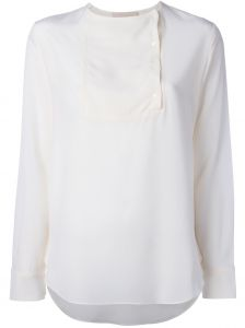 off centre buttons blouse Vanessa Bruno