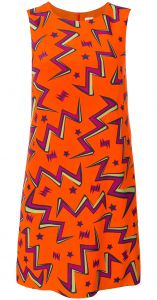 stars print shift dress M Missoni