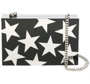 plexy brass stars clutch Stella McCartney