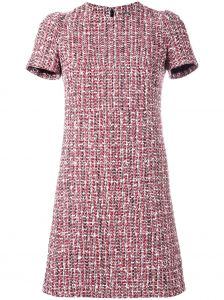 tweed dress Alexander McQueen