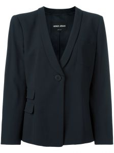 one button blazer Giorgio Armani
