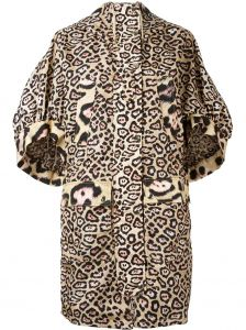 Casaco oversized animal print Givenchy
