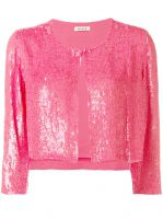 cropped sequin cardigan P.A.R.O.S.H.