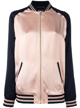 Jaqueta bomber oversized Saint Laurent