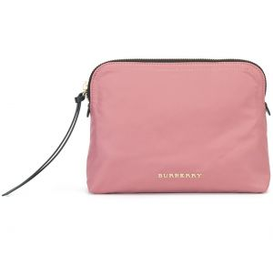 Clutch com logo Burberry