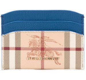 Haymarket check card case Burberry