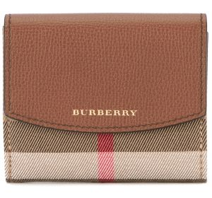 House check wallet Burberry