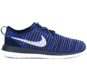 ribbed lace-up sneakers Nike