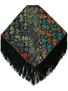 fringed scarf Missoni