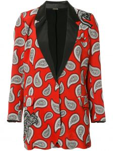 Blazer com estampa paisley Dodo Bar Or