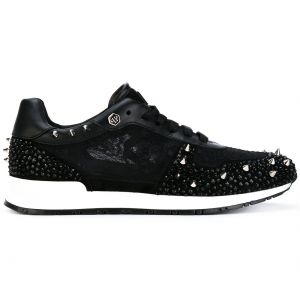 srtudded lace-up sneakers Philipp Plein