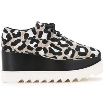 Sapato animal print Stella McCartney