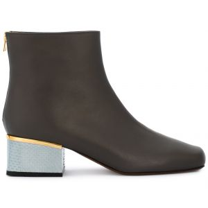 Ankle boot de couro  Amazzo  Marni